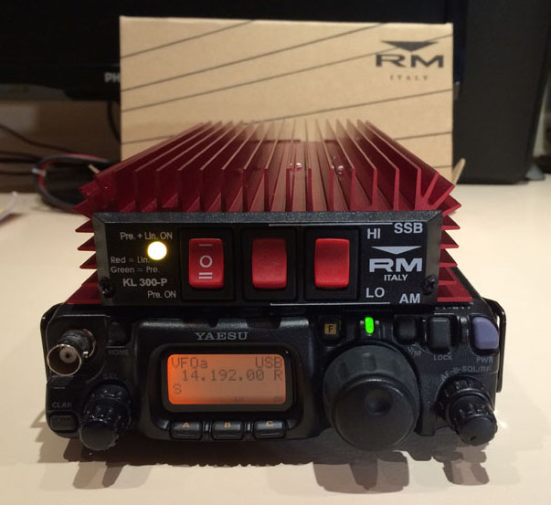 FT-817 with the RM KL300P
