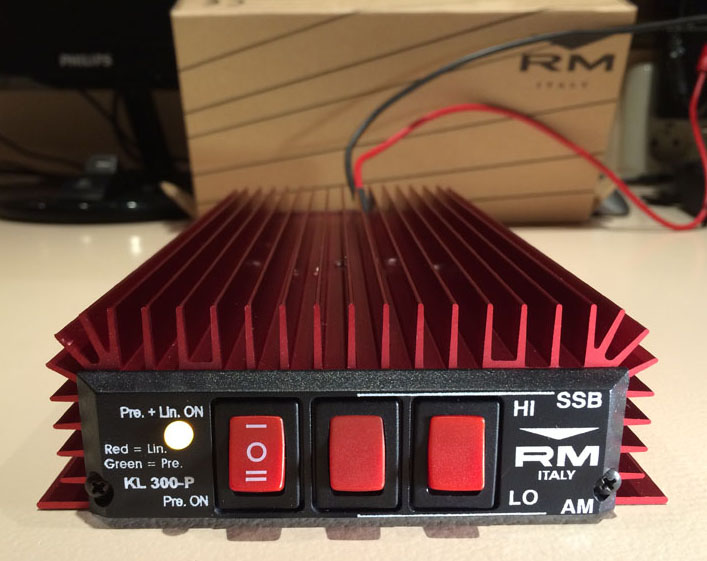 The RM KL300P Linear Amplifier