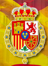 The armor of the royalty of Spain