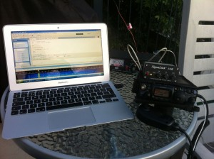 PA1CA my setup in Montreal