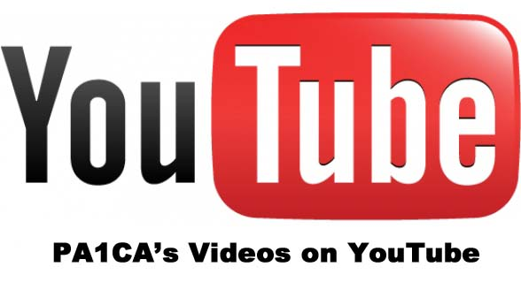 PA1CA on YouTube